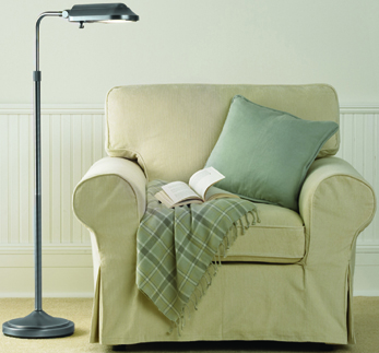Great reading lamps are available at D. Baxter's in Wilmington, NC.