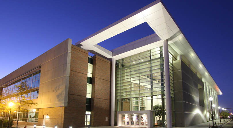 The Humanities and Fine Arts Center opened in October 2015.