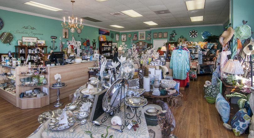 Southern Emporium in Surf City on Topsail Island, NC.
