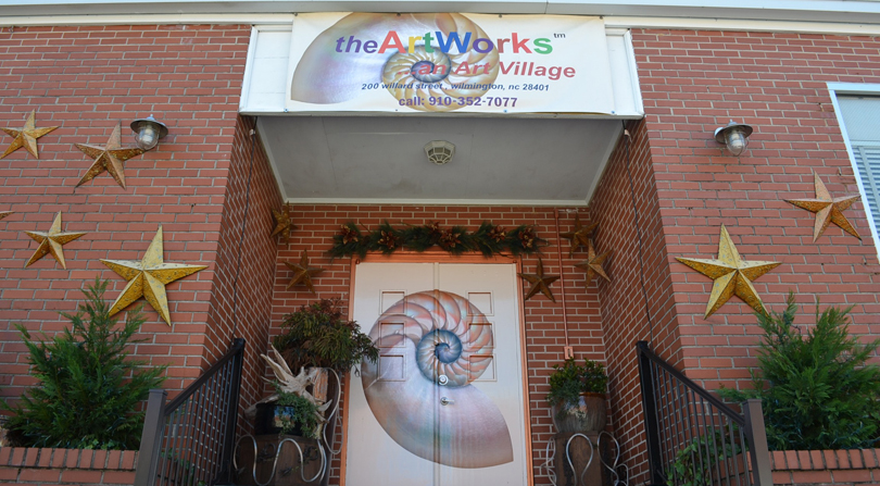 theArtWorks in downtown Wilmington NC.