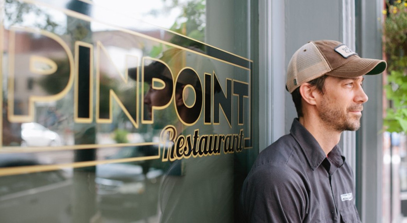 Wilmington NC chef Dean Neff owns PinPoint Restaurant