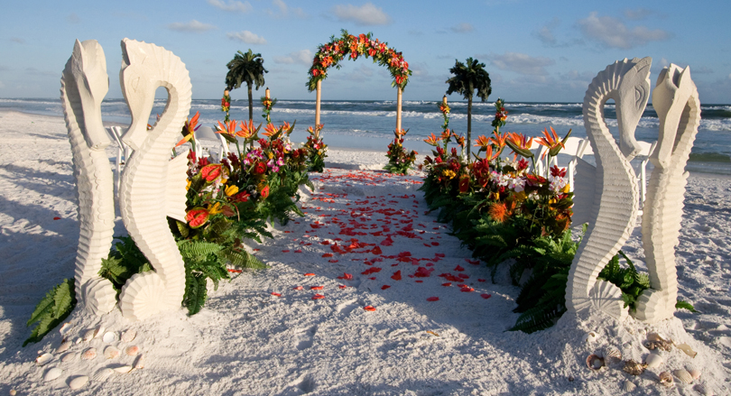 Beach wedding venues on Topsail Island and Wrightsville Beach