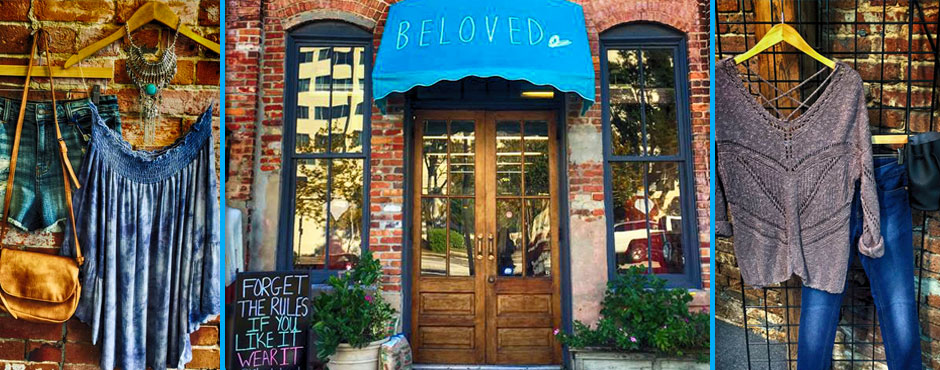 Beloved Boutique in downtown Wilmington NC