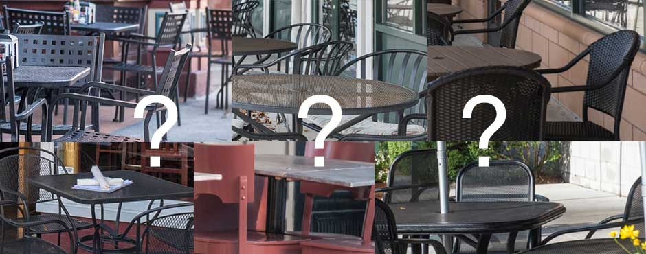 Match The Patio With The Restaurant & Win a $50 Gift Certificate!