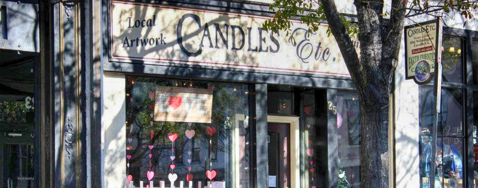 Candles Etc in Historic Downtown Wilmington NC
