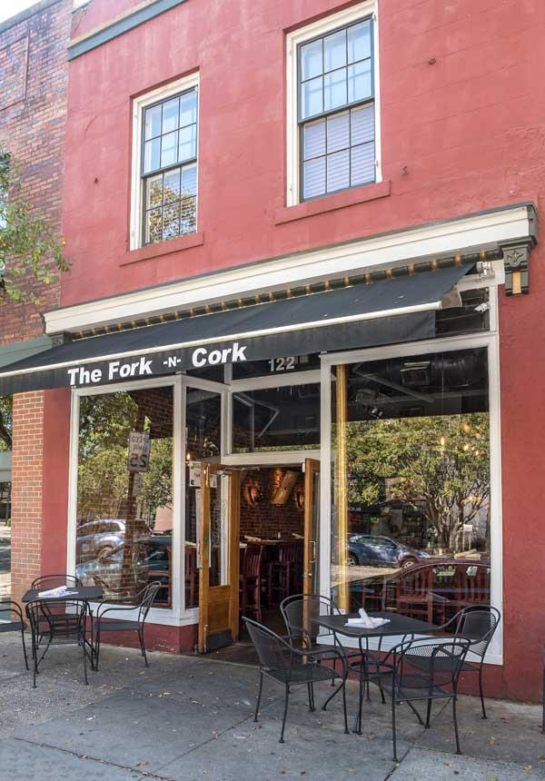 Fork n Cork patio
