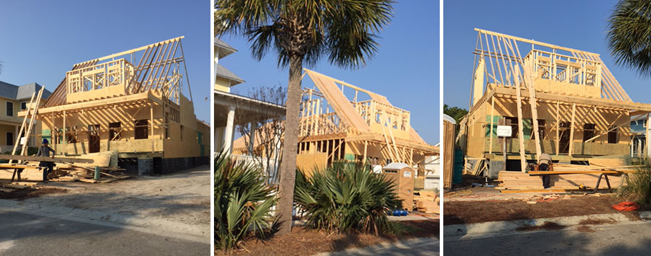 Building a Herrington Homes custom home in Wilmington NC