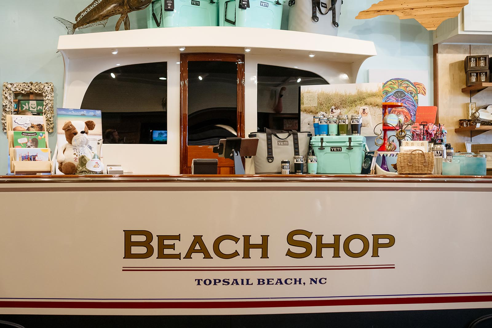 beach shop in topsail nc