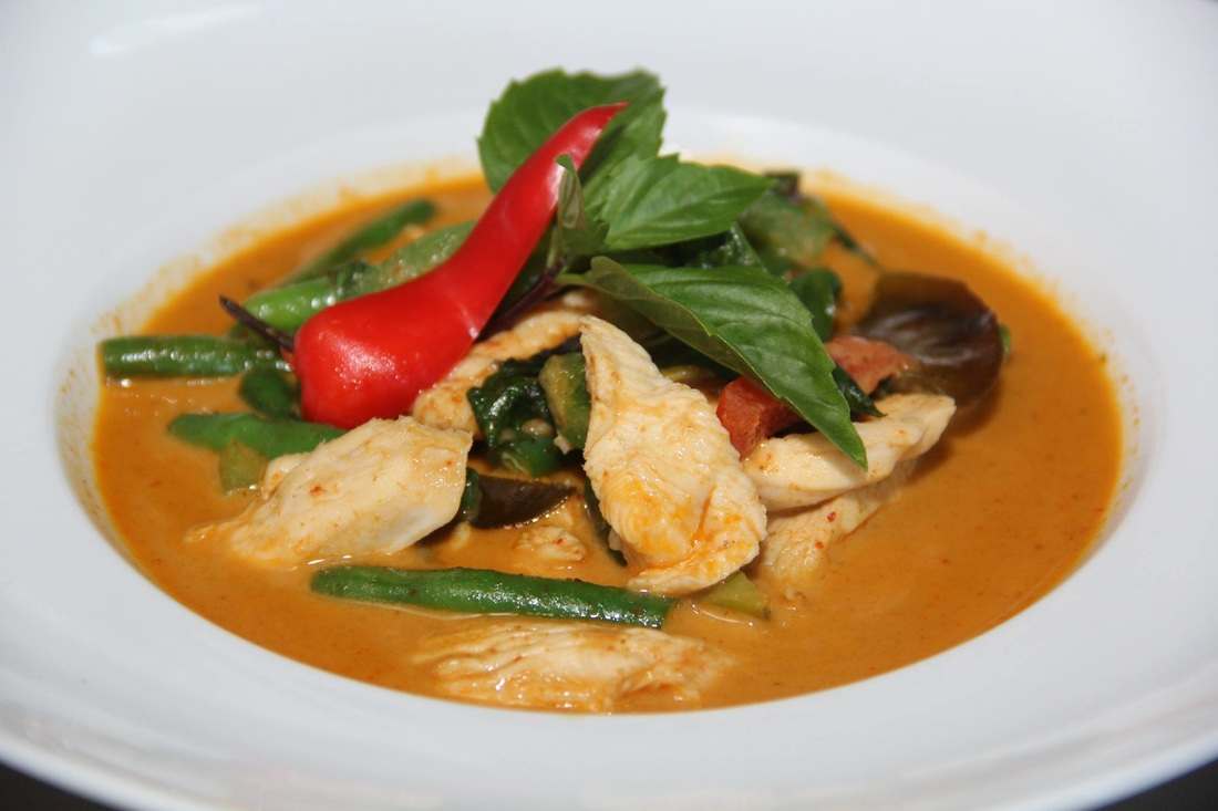 Umaii Red Curry with Chicken
