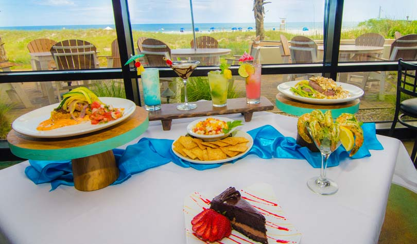Shell Island Resort restaurant in Wrightsville Beach serves great food
