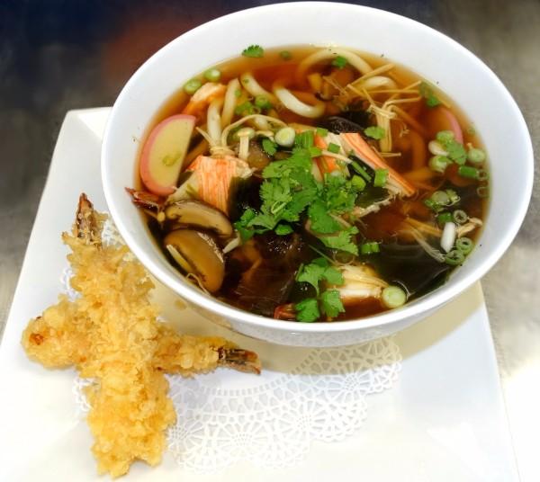 Shrimp Temp Udon from Sushi Gem