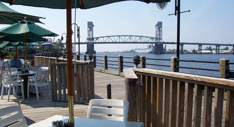 Elijah's restaurant in downtown Wilmington NC