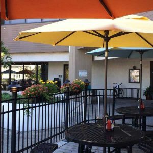 banks channel wrightsville beach outdoor patio