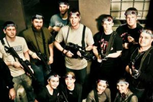 Battle House Laser tag for bachelorette parties in Wilmington, NC