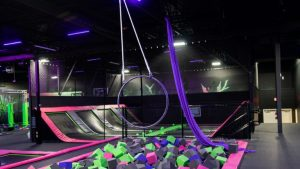 Flip N Fly Trampoline Park for Bachelorette Parties