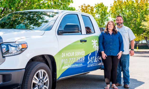 Who's Who: Brooke and Devin Skipper, Salt Air Heating & Cooling