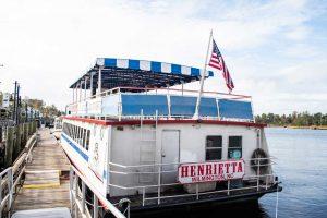 The Henrietta on the Cape Fear River