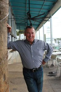 Larry Morgan at Bluewater Grill in Wrightsville Beach