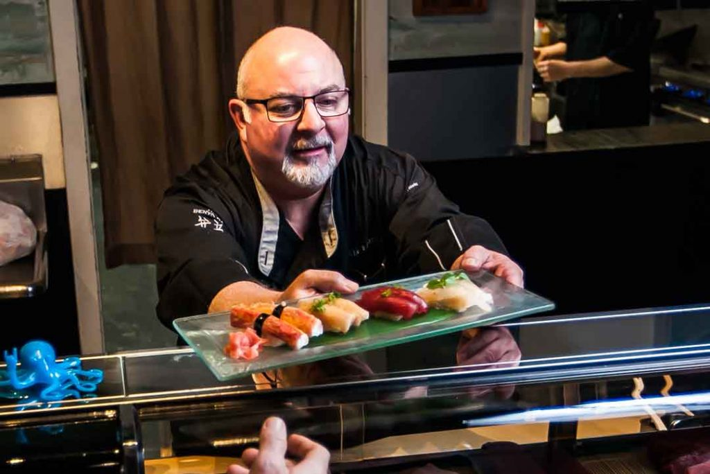 Chef Lee Grossman, Owner of Bento Box Sushi in Wilmington