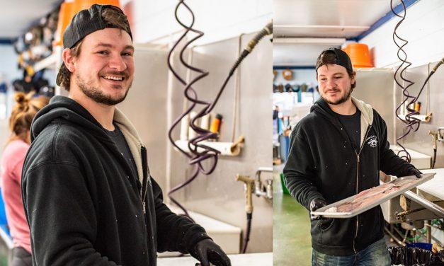 Who's Who: Jacob Golubski, Manager, Seaview Crab Company